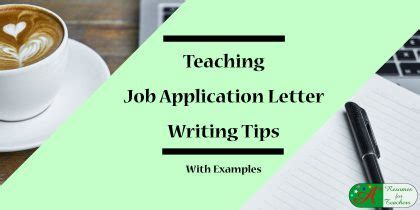 Job appication cover letter